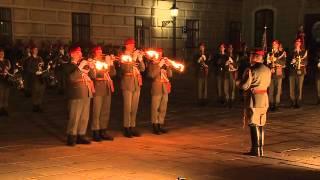 Showvorführung der Garde zum 75. Geburtstag unseres Herrn Bundespräsidenten