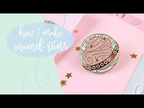 HOW TO (How I make enamel pins)