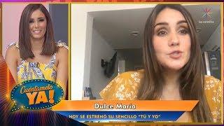 Baixar Dulce María estrena sencillo llamado 'Tú y yo' | Cuéntamelo YA!