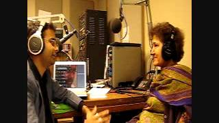 DJ Sadiq Rahman with actor and novelist ,Prof.Susham Bedi, KVRX 91.7 FM,Episode 3