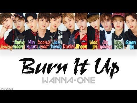 Free Download Wanna One (워너원) - Burn It Up (활활) [han|rom|eng Color Coded Lyrics] Mp3 dan Mp4