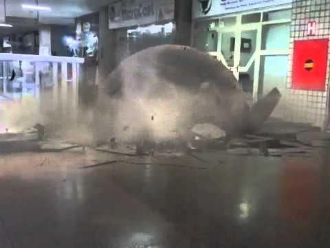 Acidente edifício brasilia radio Center