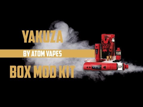 Atom Vapes Yakuza Box Mod Kit Review