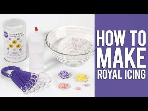 Royal Icing How To Make