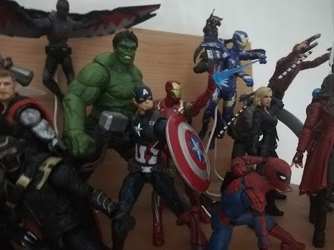 Avengers EndGame Portals scene Stop Motion