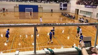 ハンドボール インターハイ予選決勝 大阪府 大体大浪商vs桃山学院 前半