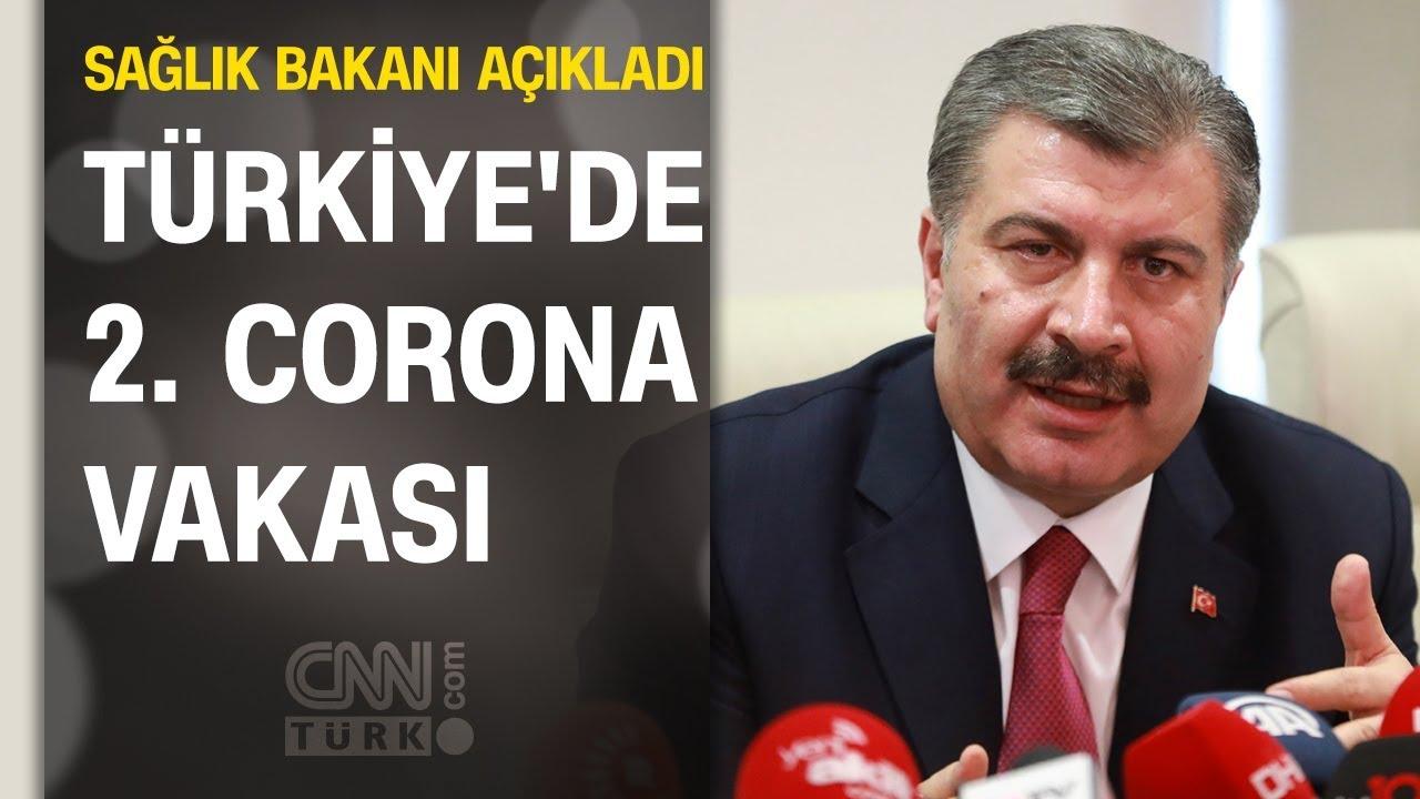 Son dakika... Türkiye'de ikinci koronavirüs vakası: Bir hastanın daha testi pozitif çıktı