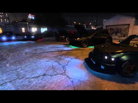 GTA V - Tuning meet #1 (Driftking)