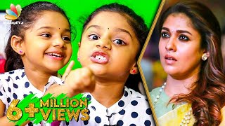 Little Lady Superstar : Manasvi Interview | Nayanthara's Imaikkaa Nodigal