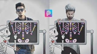 instagram viral photo editing tutorial in PicsArt step by step in hindi