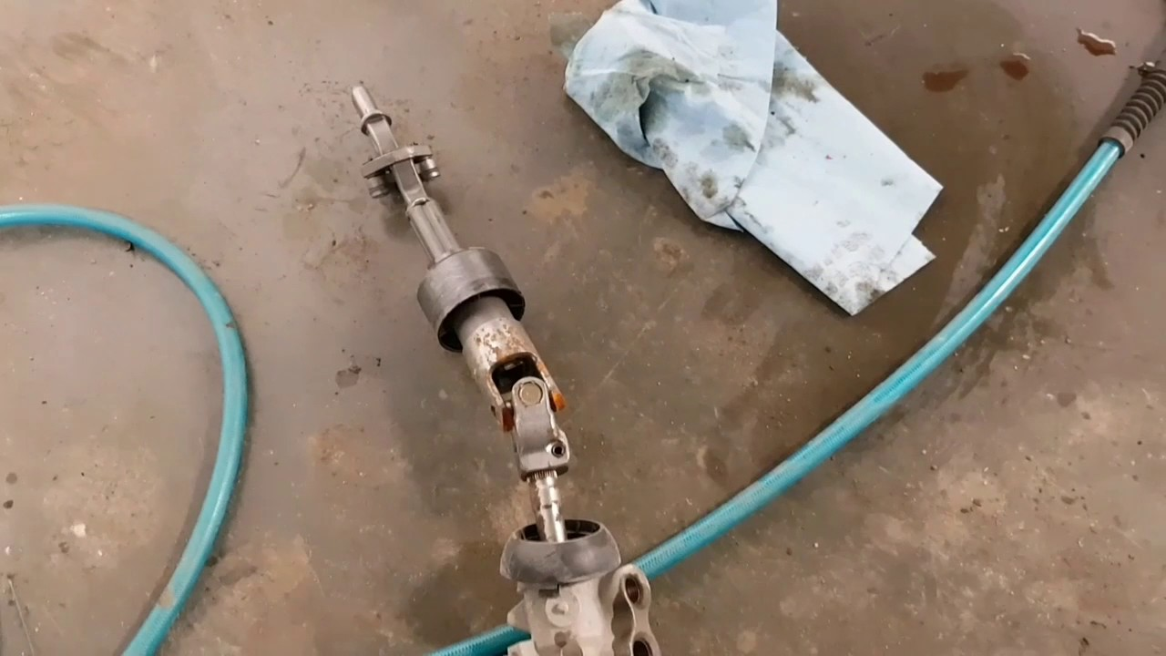 medium resolution of 2006 dodge caravan power steering rack replacement