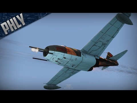 War Thunder Jet Gameplay- Mig-9 - An Awesome Engagement!