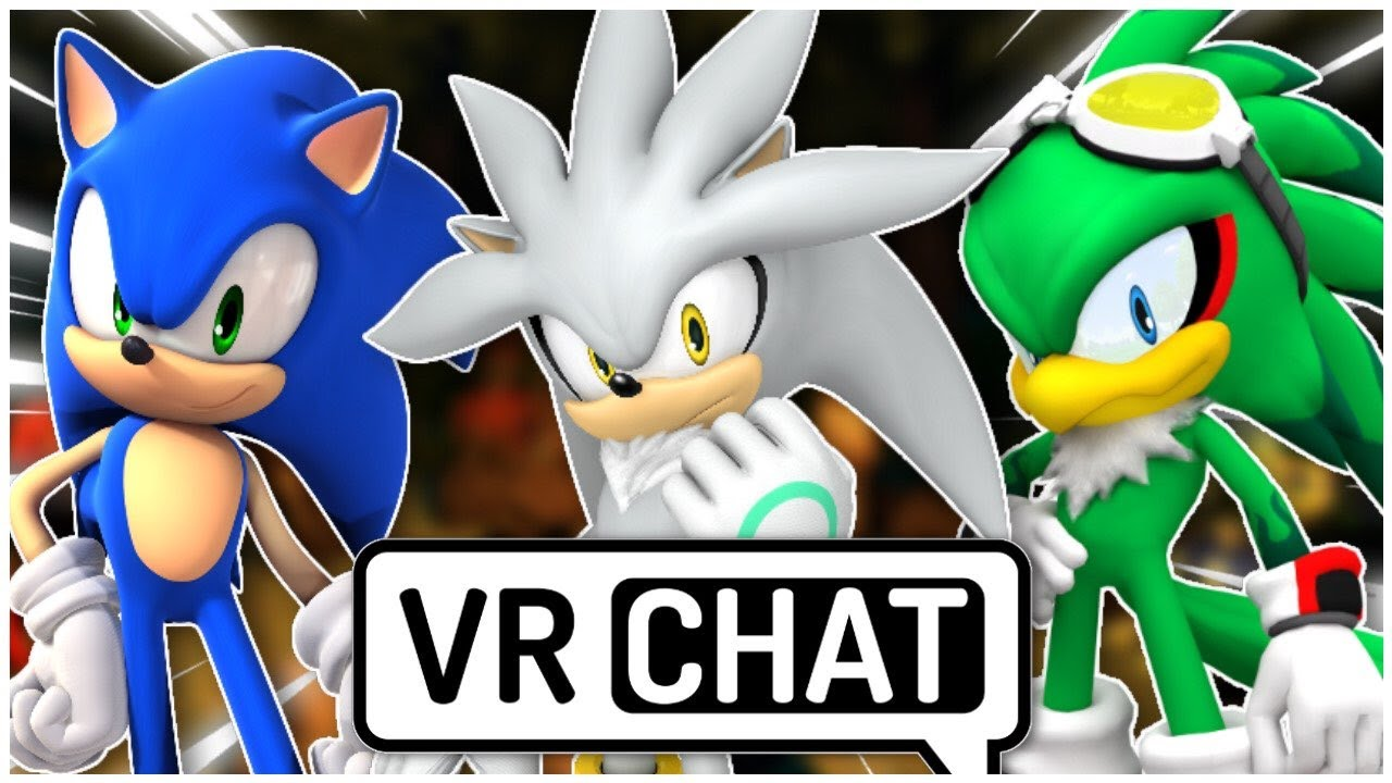 Silver, Sonic & Jet Go Camping (VR Chat)