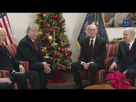 President Trump Meets with The Church of Jesus Christ of Latter-Day Saints Leaders