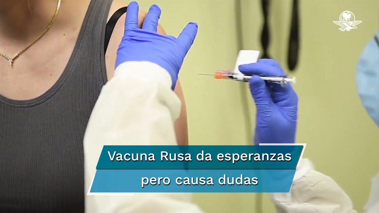 Causa dudas anuncio de primera vacuna contra Covid-19