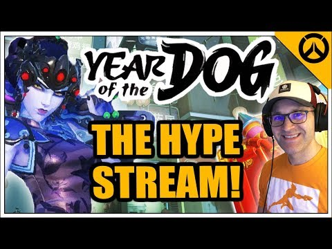 Countdown to Overwatch Lunar New Year 2018 - Year of the Dog - Event HYPE! - Stream GIVEAWAYS!