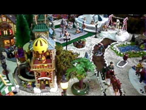 Villa navide a familia morales 2009 youtube for Villas navidenas de porcelana