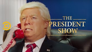 The President Fights with Himself - The President Show
