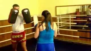 Индивидуальные тренировки по тайскому боксу, обучение с нуля.