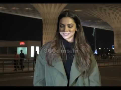 XXX Actress Deepika Padukone And Katrina Kaif Spotted At Mumbai Airport thumbnail