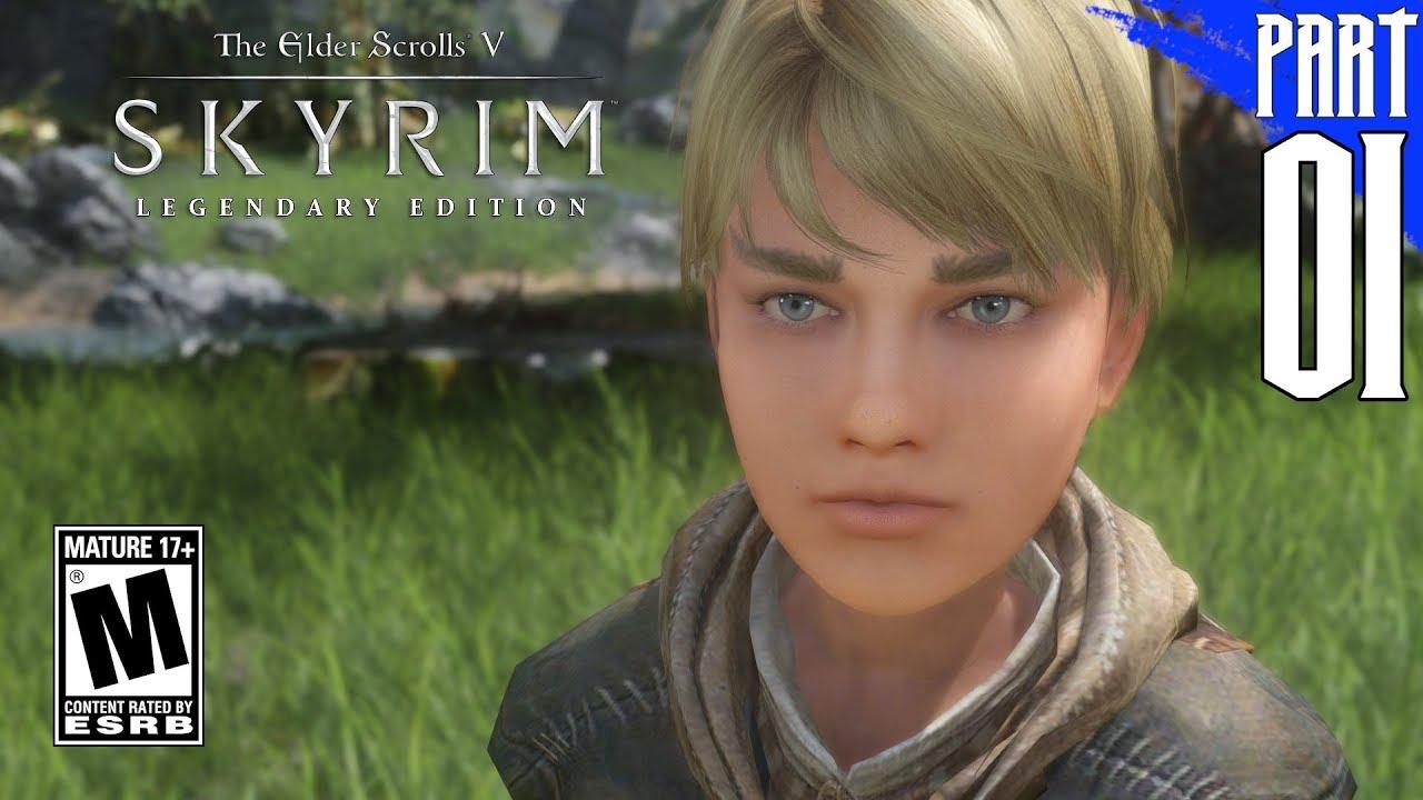 SKYRIM 200+ MODS】Nord Gameplay Walkthrough Part 1 [PC - HD
