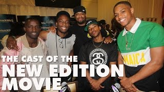 Everything you need to know about the New Edition movie from the cast!