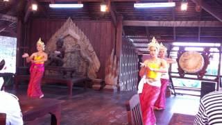 Шоу Таиланда: Национальные Танцы Тайских девушек (вариант1) / National Thailand Dancing