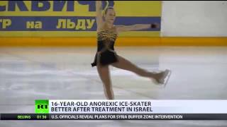 Russian anorectic ice-skater recovering in Israel