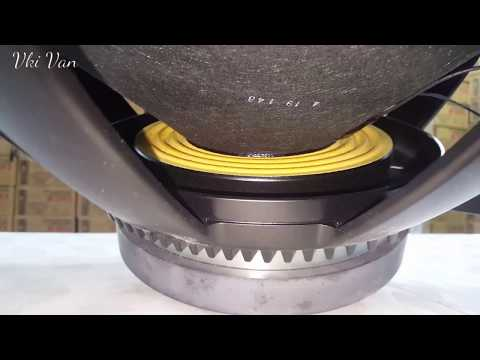 Rcf 18 inch with 2000 watts peak output - YouTube
