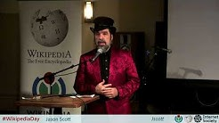 Jason Scott - The Danger of Lost History - Wikipedia Day NYC - 2018-01-14