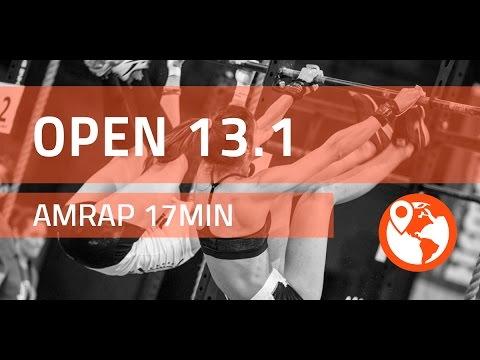 CrossFit Open 13.1 SCOTT PANCHIK vs DAN BAILEY