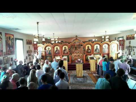 Pentecost Divine Liturgy 2015-05-31