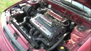 Jamie's 92 Hyundai Elantra with bastard 4g63 swap