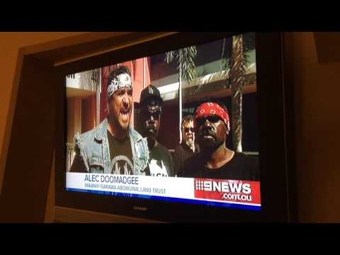 Northern Land Council Channel 9 News Story