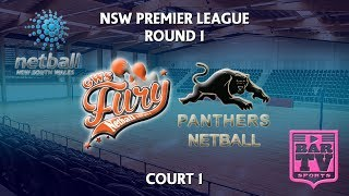 2018 Samsung Premier League Round 1 - U20s/Opens - Court 1 - GWS Fury v Penrith Panthers