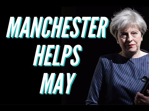 Manchester Terrorist Attack Helps Theresa May In UK Election. Conservatives Stronger Than Corbyn