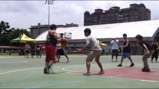 你敢這樣跟別人打街頭籃球嗎
