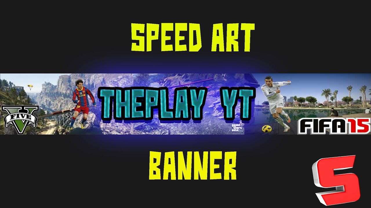 Banner para THEPLAY YT SPEED ART|_SergioYeles_| - YouTube