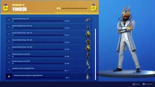Fortnite Temporada X Yond3r Skin Review And Rewards, DJ Yond3r
