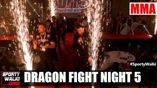 Dragon Fight Night 5 - skrót gali