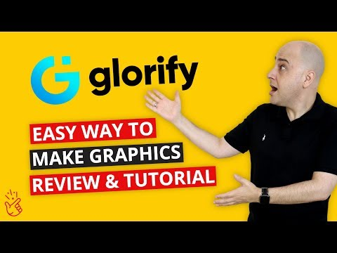 GlorifyApp Review & Tutorial - The Best Graphics App For Web, Social, Ecom, Banners, Logos, Ebooks?