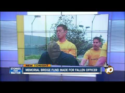 Memorial bridge fund made for fallen officer
