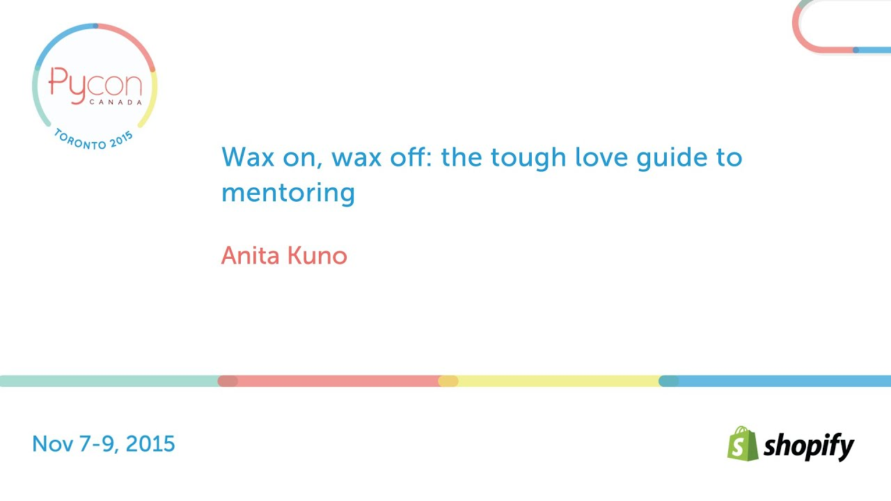 Image from Wax on, wax off: the tough love guide to mentoring