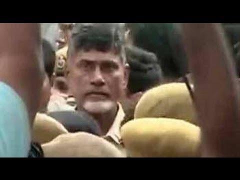 Fasting Chandrababu Naidu evicted from Delhi's Andhra Bhavan, taken to hospital