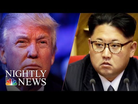 President Donald Trump Signals Trust In North Korea After Agreeing To Meeting   NBC Nightly News