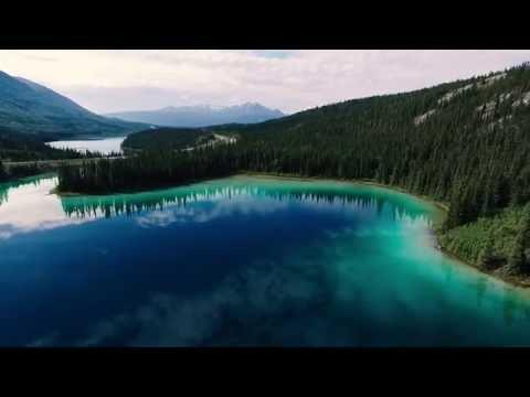 Emerald Lake Yukon Canada (Phantom Flight)