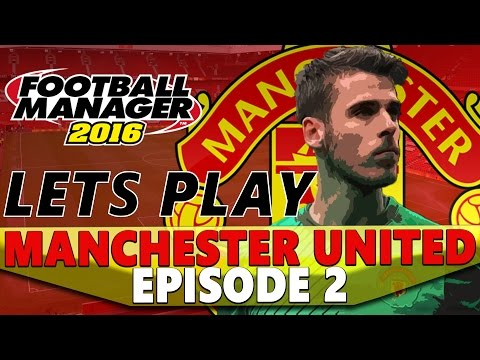 Manchester United | Episode 2 | TRANSFER SPECIAL | Football Manager 2016