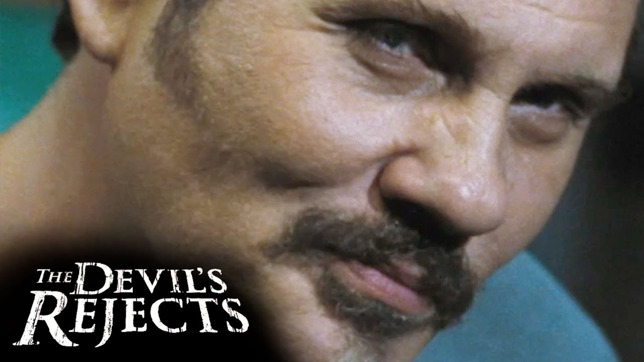 """The Devil's Rejects (2005) Official Clip """"Arm Of Justice"""" - Sid Haig, Sheri Moon Zombie"""