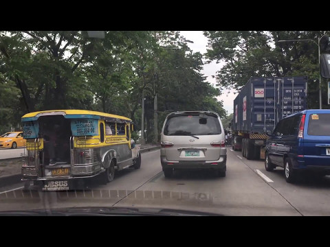 Driving thru Metro Manila, Philippines  2017