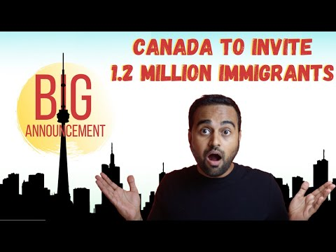 🔥 Canada to invite 400,000+ immigrants every year